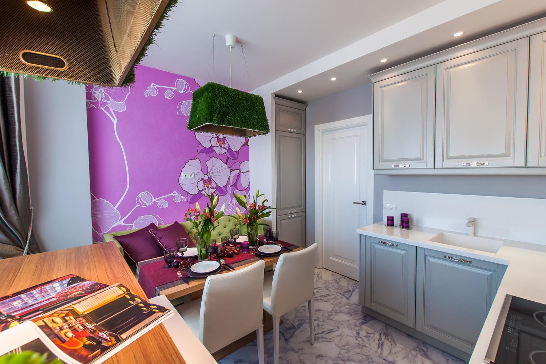 кухня 10 кв м с диваном декор