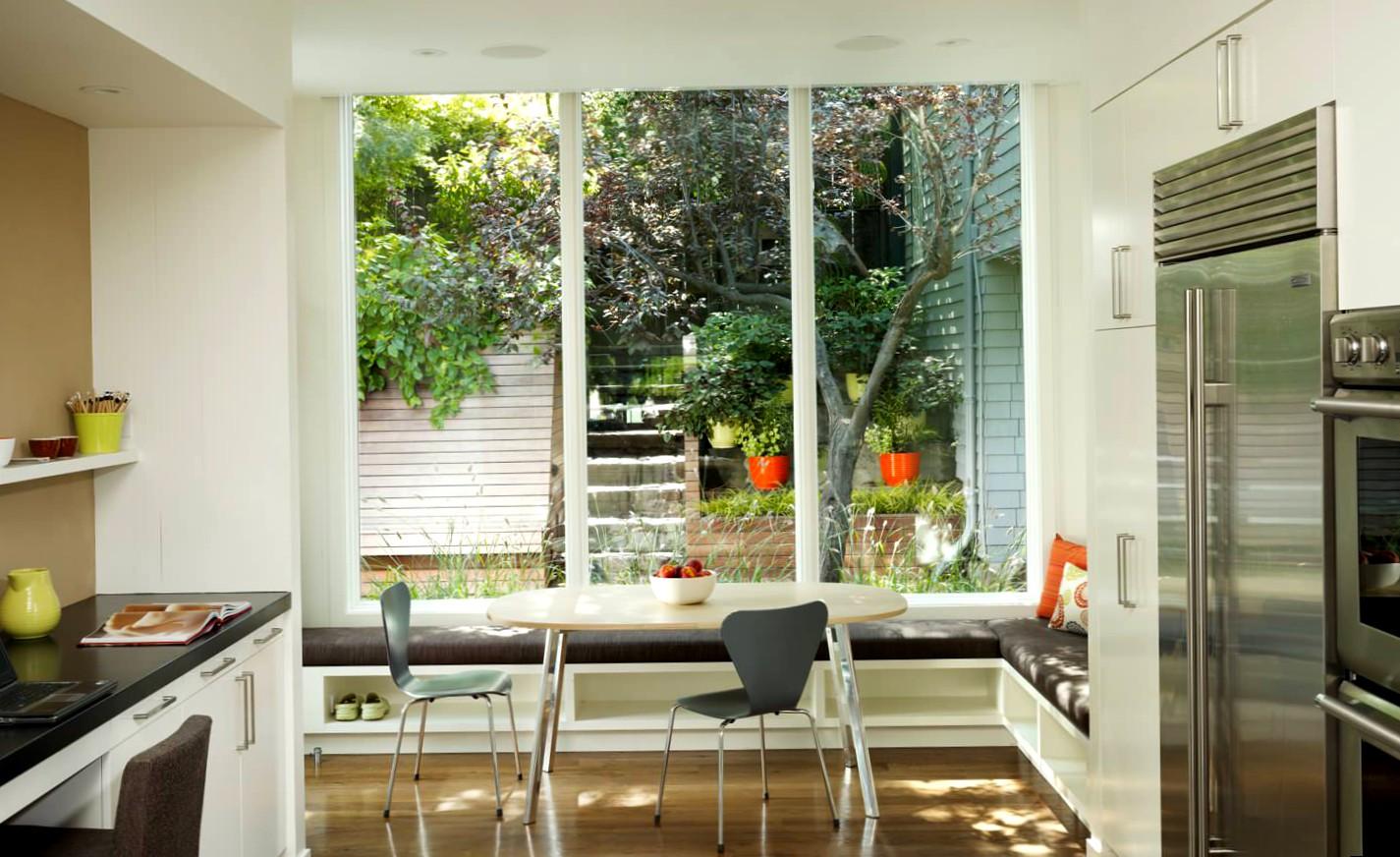 кухня 10 кв м с диваном дизайн