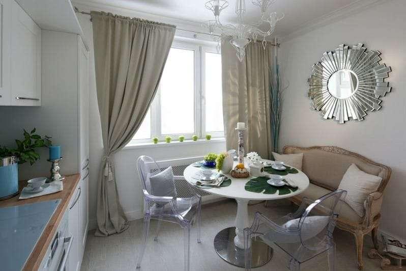 кухня 10 кв м с диваном фото интерьера