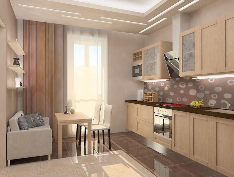 кухня 10 кв м с диваном идеи декор