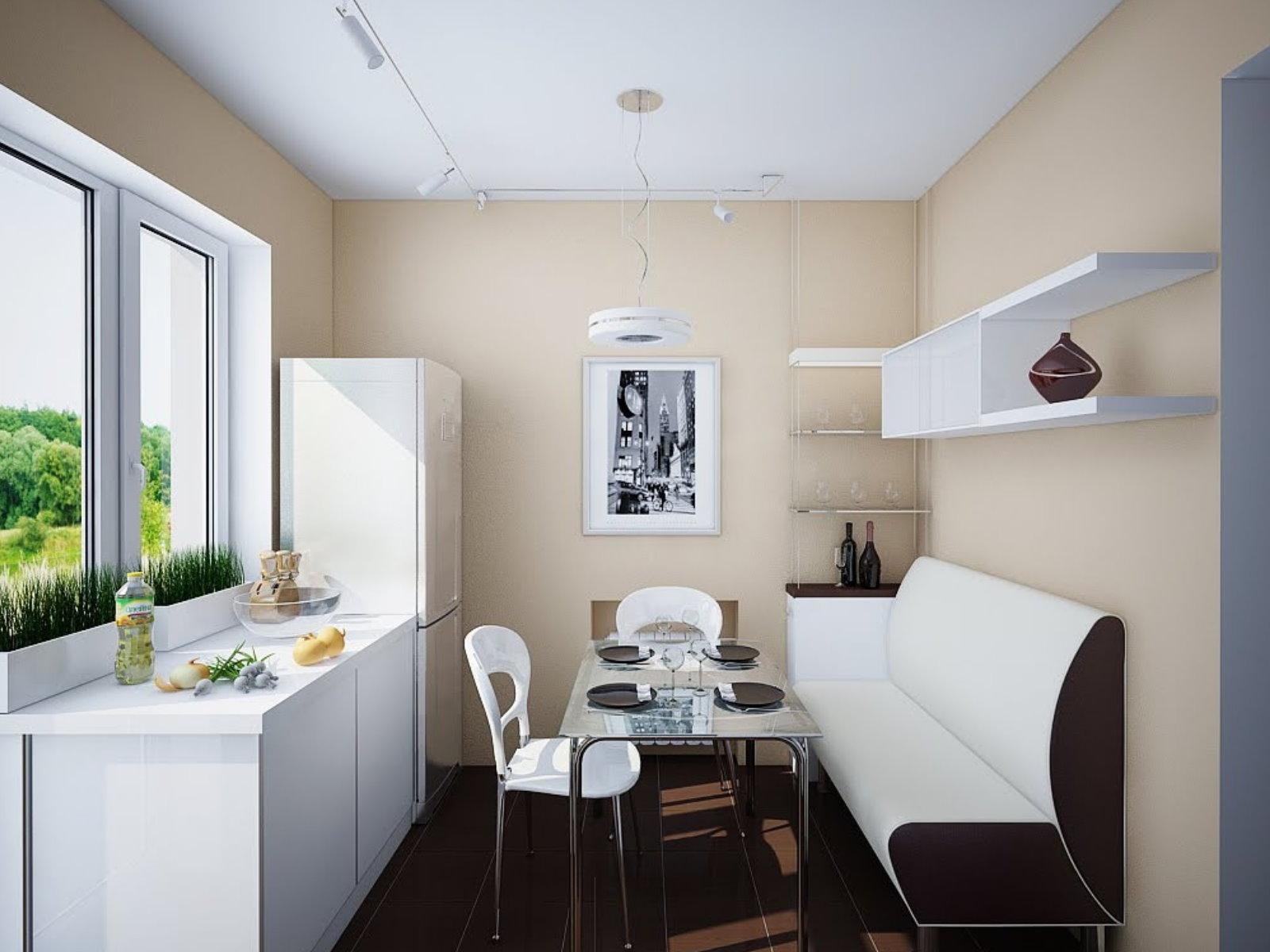 кухня 10 кв м с диваном идеи дизайна