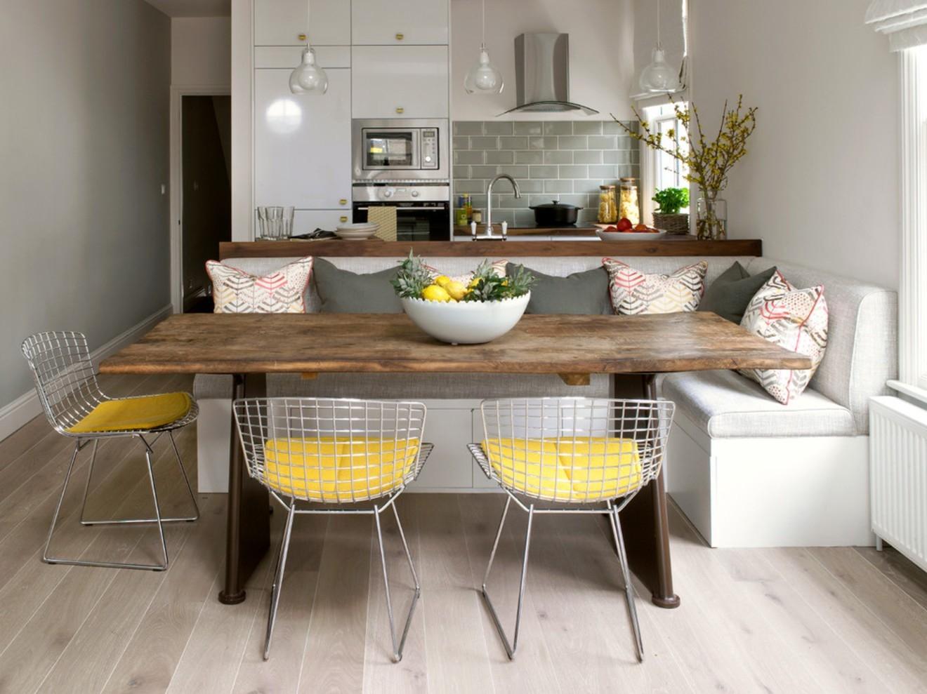 кухня 10 кв м с диваном идеи фото