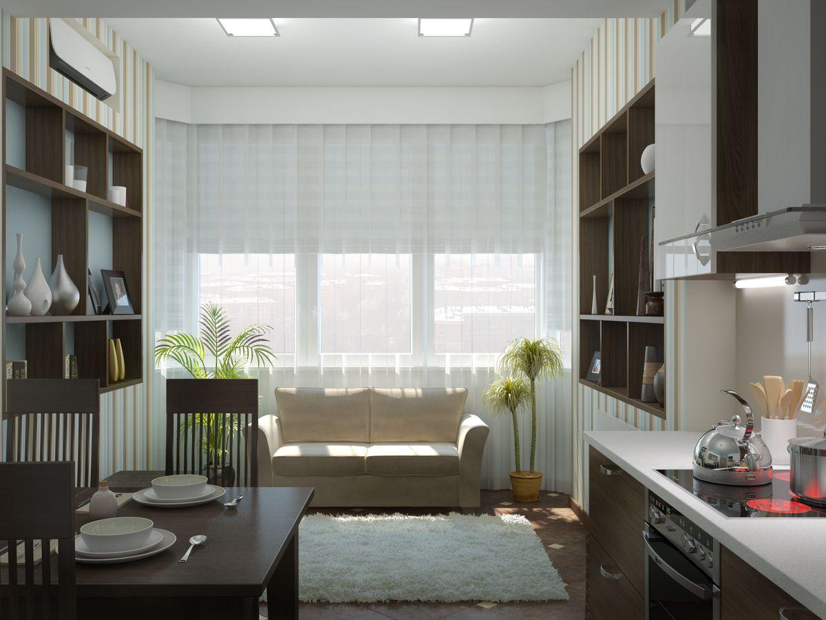 кухня 10 кв м с диваном идеи