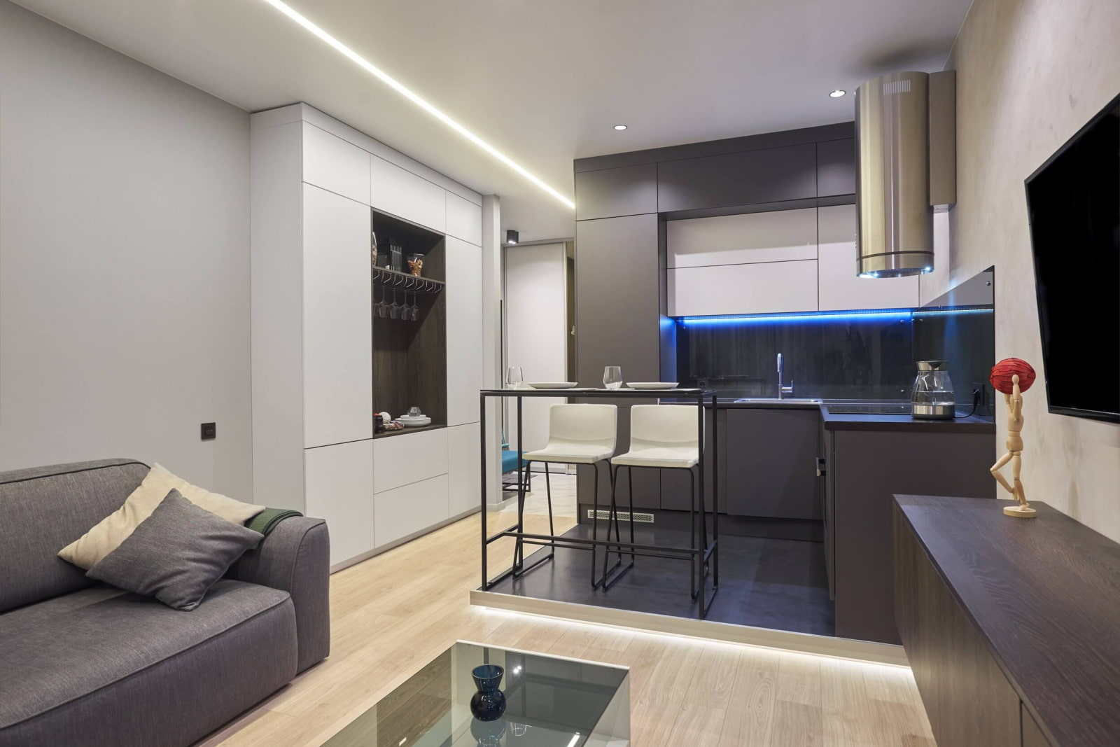 кухня 15 кв м с диваном дизайн фото