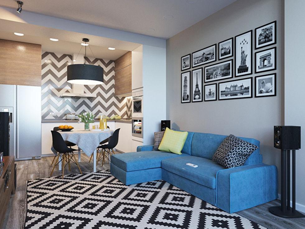 кухня 15 кв м с диваном идеи интерьера