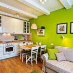 кухня 15 кв метров с диваном виды оформления