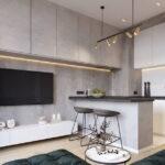 кухня 15 кв метров с диваном идеи декора