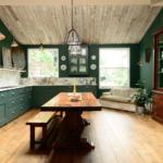 кухня 15 кв метров с диваном интерьер