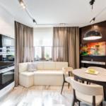 кухня 15 кв метров с диваном интерьер идеи