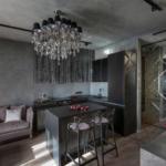 кухня 15 кв метров с диваном фото оформления