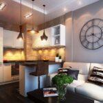 кухня 15 кв метров с диваном варианты фото