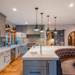 кухня 15 кв метров с диваном фото виды