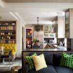 кухня 15 кв метров с диваном виды идеи