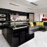 кухня 15 кв метров с диваном идеи виды