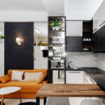 кухня 15 кв метров с диваном дизайн фото