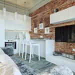 кухня 15 кв метров с диваном идеи дизайн