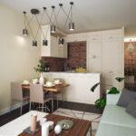 кухня 15 кв метров с диваном фото декор