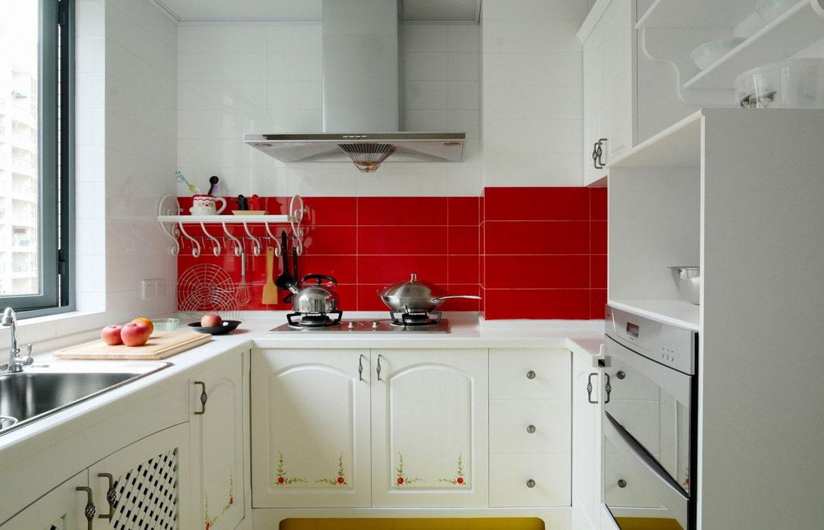 кухня 6 кв м буквой П