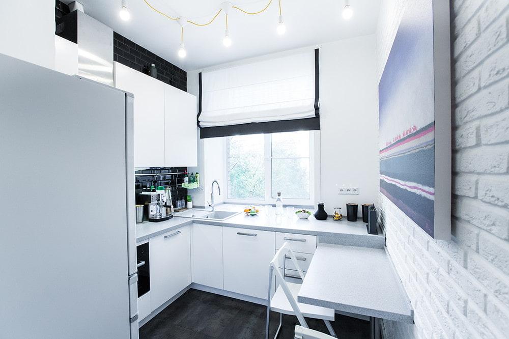 кухня 6 кв м идеи фото
