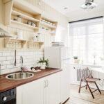 кухня 6 кв м интерьер