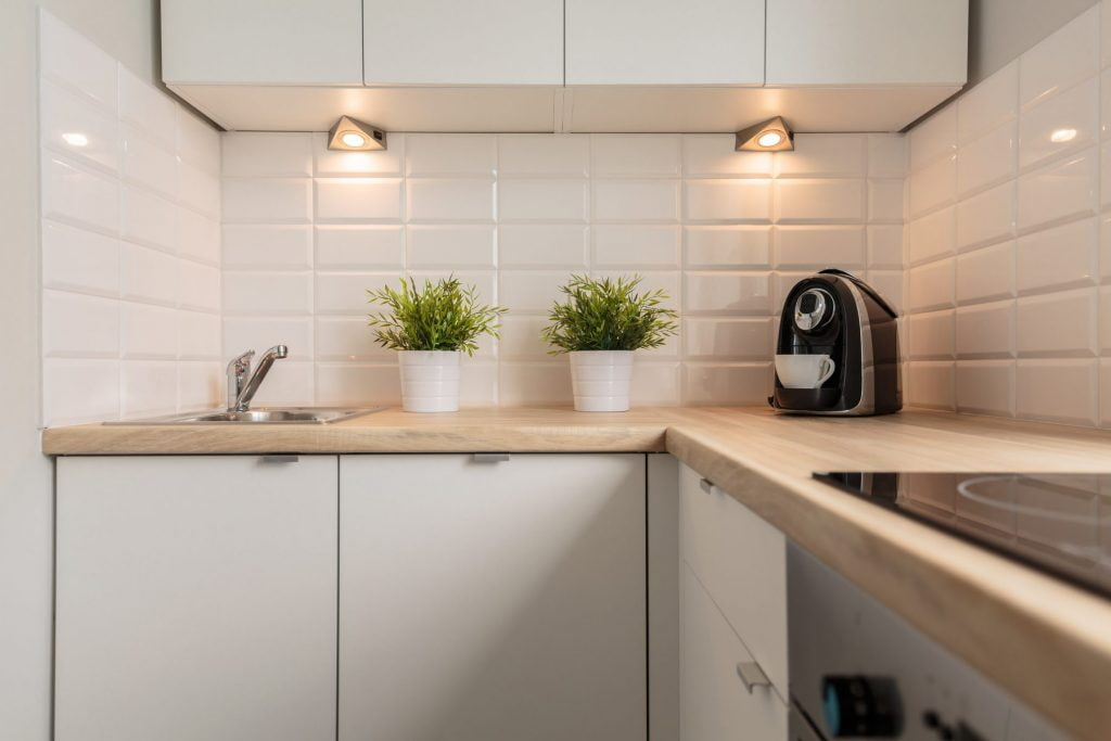 кухня 6 кв м освещение