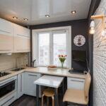 кухня 6 кв метров идеи дизайна