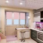 кухня 6 кв метров фото