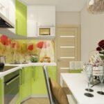 кухня 6 кв метров фото видов