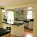 кухня из гипсокартона фото варианты