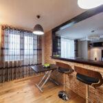 кухня из гипсокартона дизайн фото