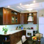 кухня из гипсокартона идеи декор