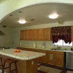 кухня из гипсокартона фото интерьер