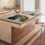 кухня из гипсокартона оформление идеи