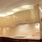 кухня из гипсокартона идеи оформления