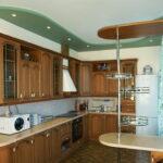 кухня из гипсокартона фото дизайна