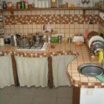кухня из гипсокартона идеи варианты