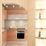 кухня из гипсокартона виды фото
