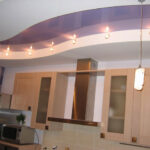 кухня из гипсокартона фото видов