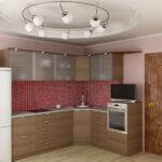 кухня из гипсокартона фото