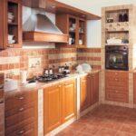 кухня из гипсокартона декор фото