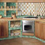 кухня из гипсокартона фото декор