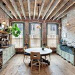 кухонный гарнитур для большого лофта