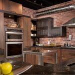 кухонный гарнитур для дизайна в лофте