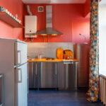 кухня с газовой колонкой интерьер идеи
