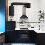 кухня с газовой колонкой идеи