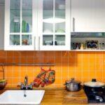 кухня с газовой колонкой фото вариантов