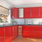 кухня с газовой колонкой идеи виды
