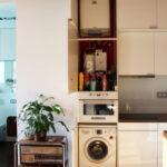 кухня с газовой колонкой фото дизайн
