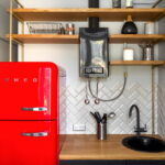 кухня с газовой колонкой фото дизайна
