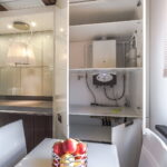 кухня с газовым котлом фото интерьера